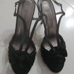 Verona black heels
